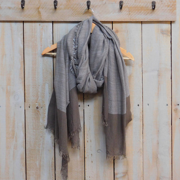 Sophisticated and Soft Scarf - Light Brown
