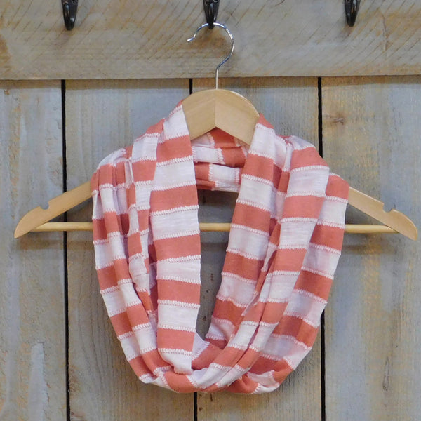 Nautical Striped Infinity - Orange
