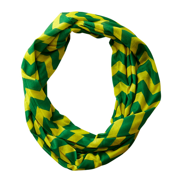 Chevron Jersey Infinity - Green Yellow