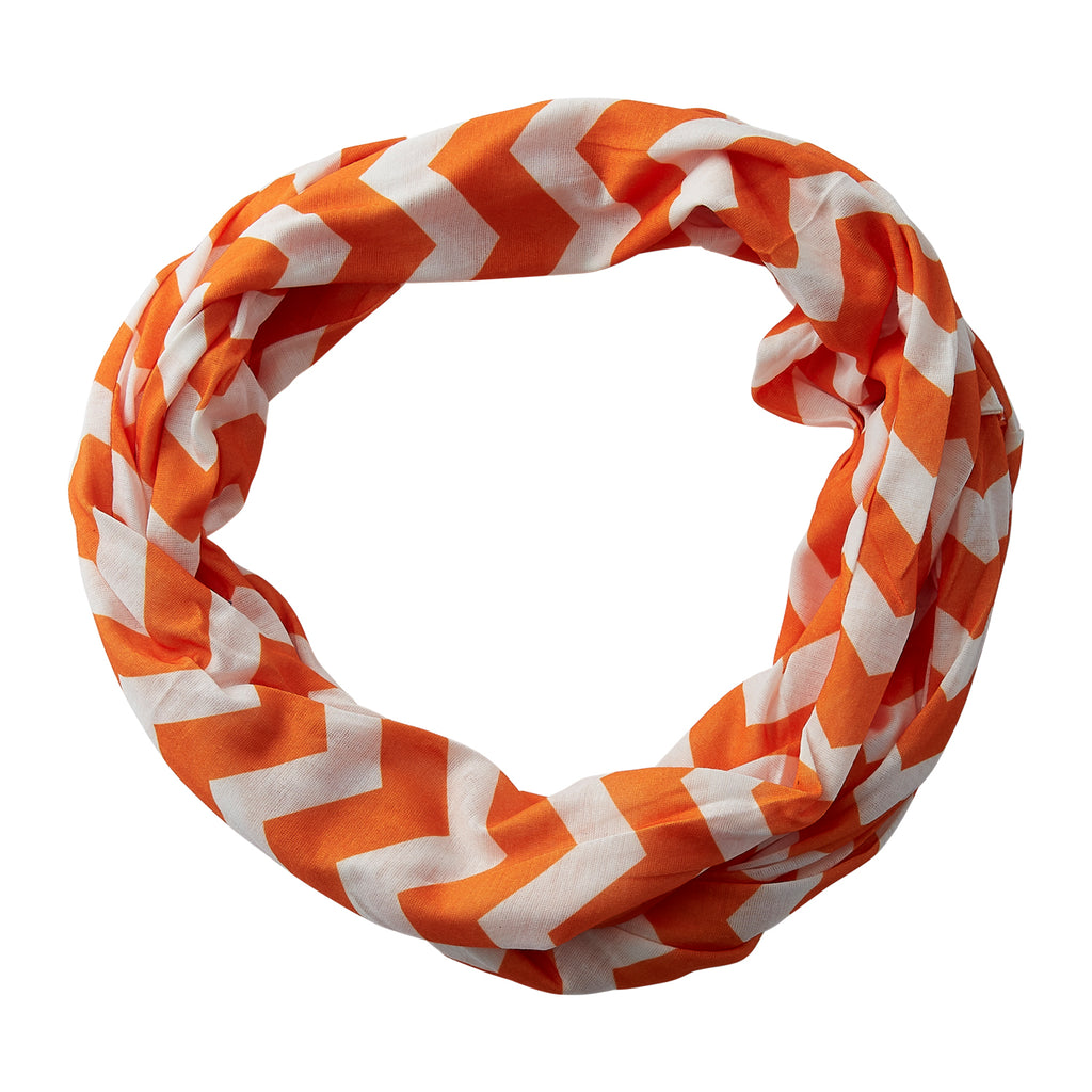 Chevron Jersey Infinity - Orange