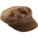 Walnut & Ginger Scout Plaid Newsboy Cap