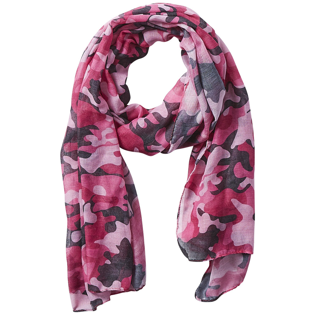 Insect Shield Scarf - Pink Camo