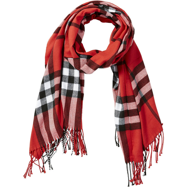 Red Regan Plaid Scarf
