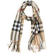 Beige Regan Plaid Scarf