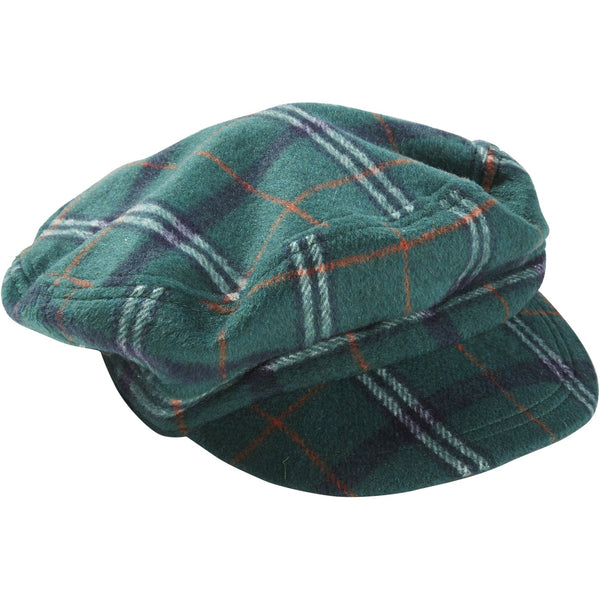 Juniper & Sienna Scout Plaid Newsboy Cap