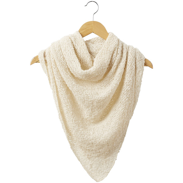 Fall Cowboy Scarf - White