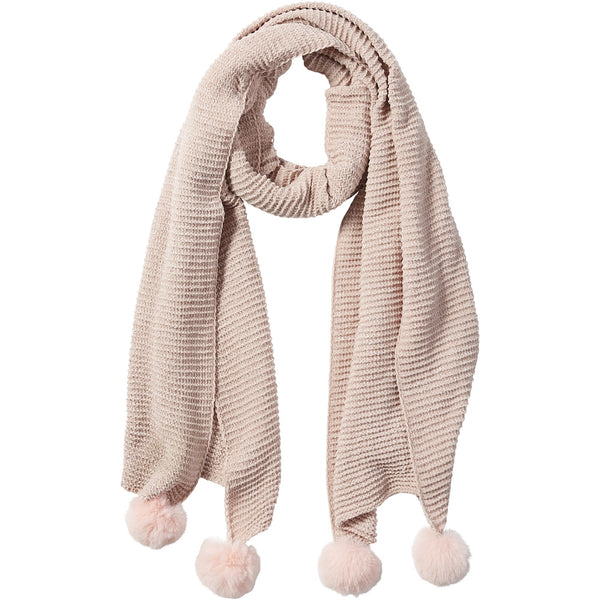 Pink Sara Chenille Cozy Scarf