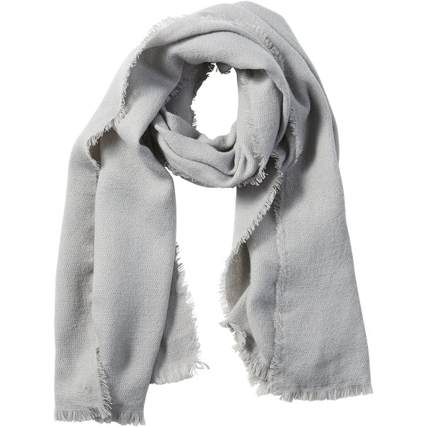 Gray Evelyn Shimmer Scarf