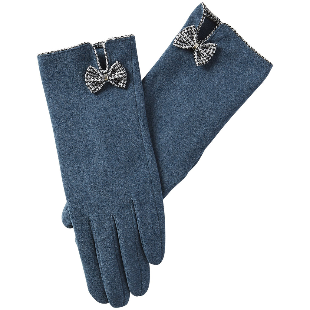 Isla Bow Gloves - Peacock