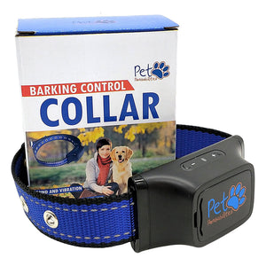 No Shock Humane Bark Control Collar, Sound & Vibration Only, For 25-150 lb Dogs, Neck size 13inch to 24inch