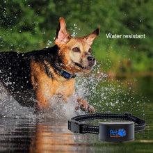 Load image into Gallery viewer, No Shock Humane Rechargeable Water Resistant Bark Control Collar, Sound & Vibration Only, For 6-120lb dogs, Neck size 6in to 27in