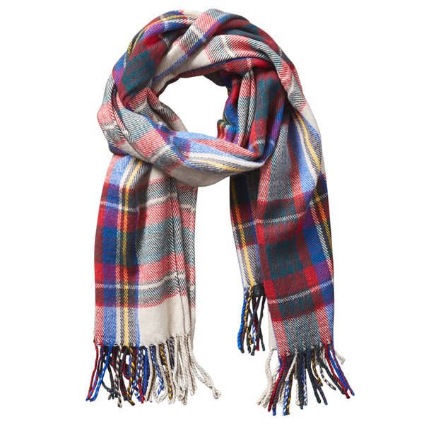 Wholesale Scarves - Classic Plaid Scarf - Classic Kahkai - Tickled Pink