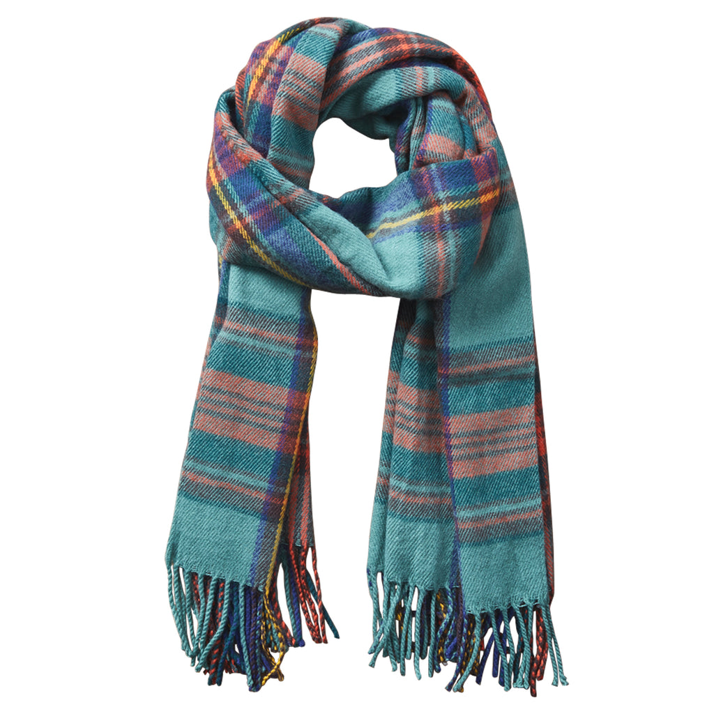 Classic Plaid Scarf - Classic Green - Tickled Pink Wholesale