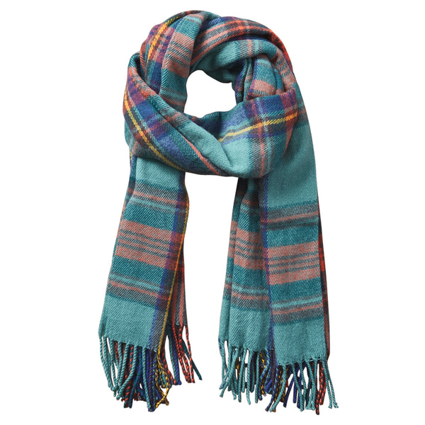 Wholesale Scarves - Classic Plaid Scarf - Classic Green - Tickled Pink