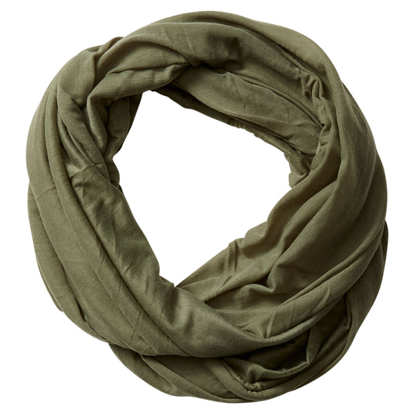 Wholesale Scarves - Everyday Infinity - Olive Green - Tickled Pink