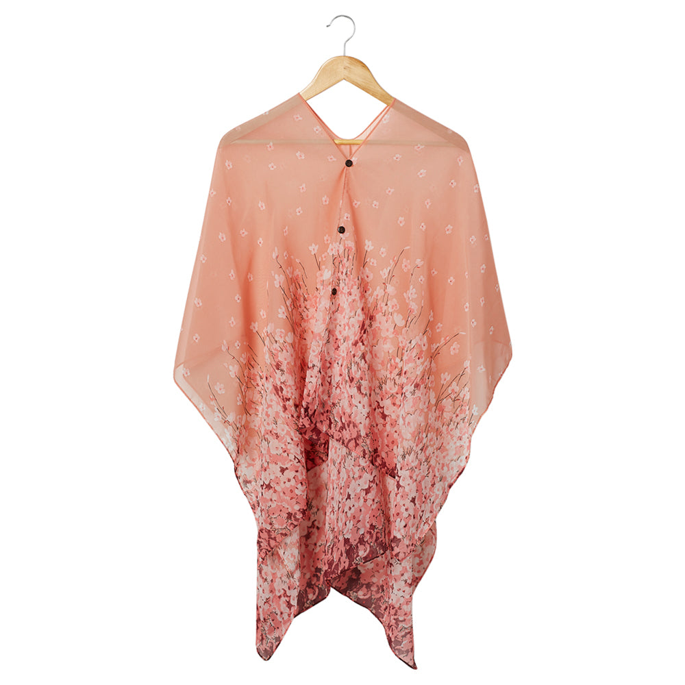 Field Of Flowers Kimono - Pink - Tickled Pink Wholesale