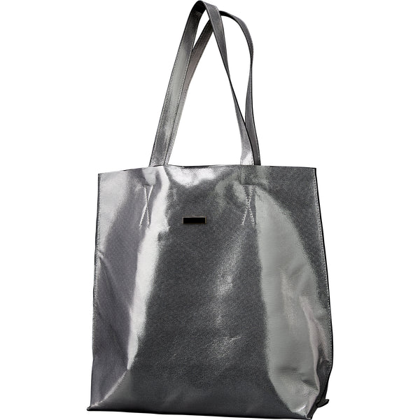 Wholesale Boutique Gifts - Silver Glam Tote - Tickled Pink