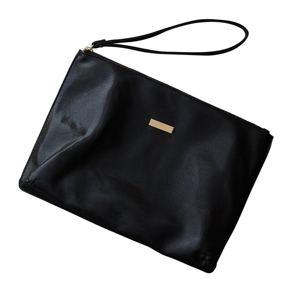 Wholesale Boutique Gifts - Black Glam Clutch - Tickled Pink