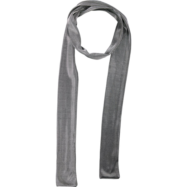 Wholesale Boutique Gifts - Black Metallic Skinny Scarf - Tickled Pink