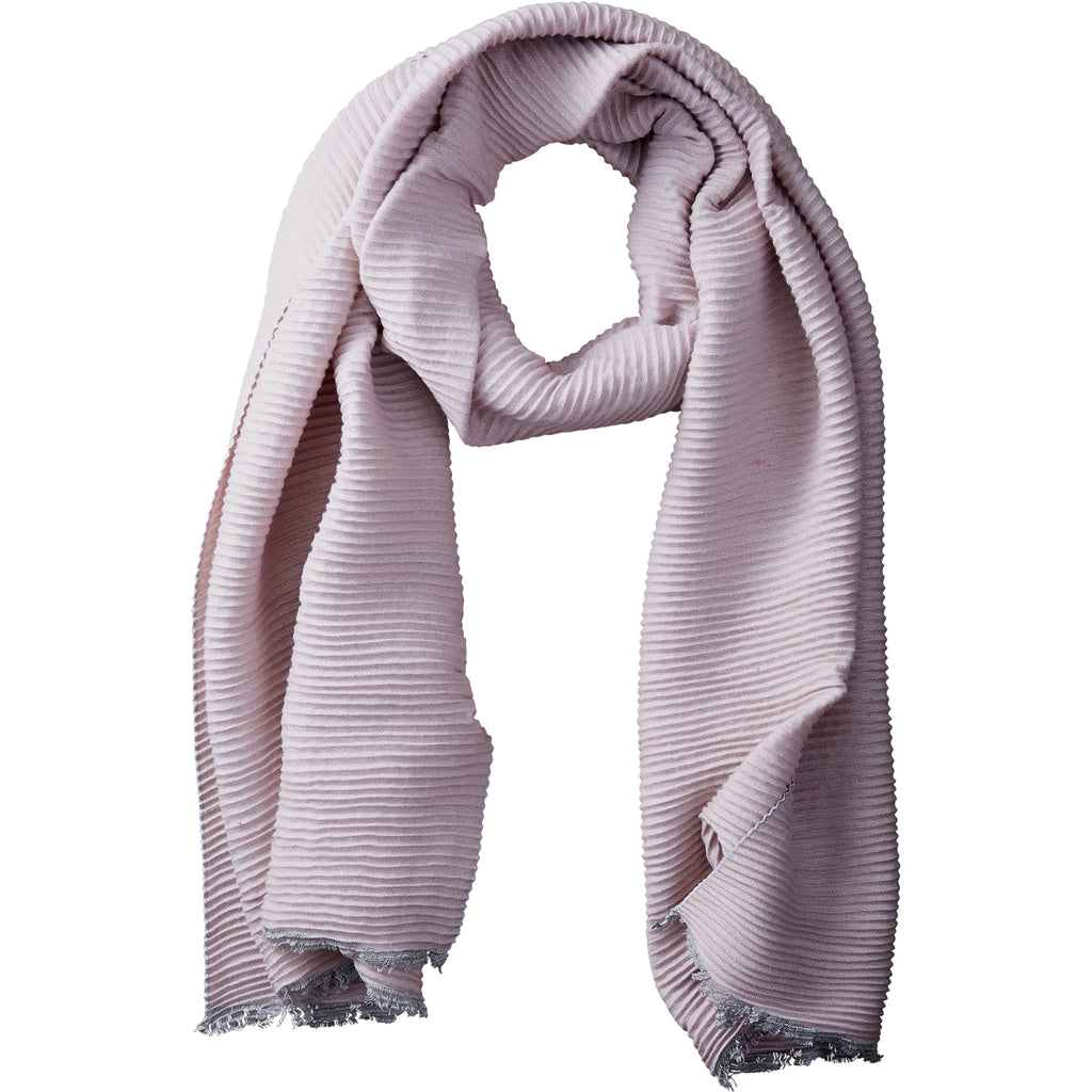 Mauve Solid Ridged Scarf - Tickled Pink Wholesale