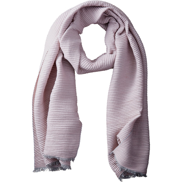 Wholesale Boutique Gifts - Mauve Solid Ridged Scarf - Tickled Pink