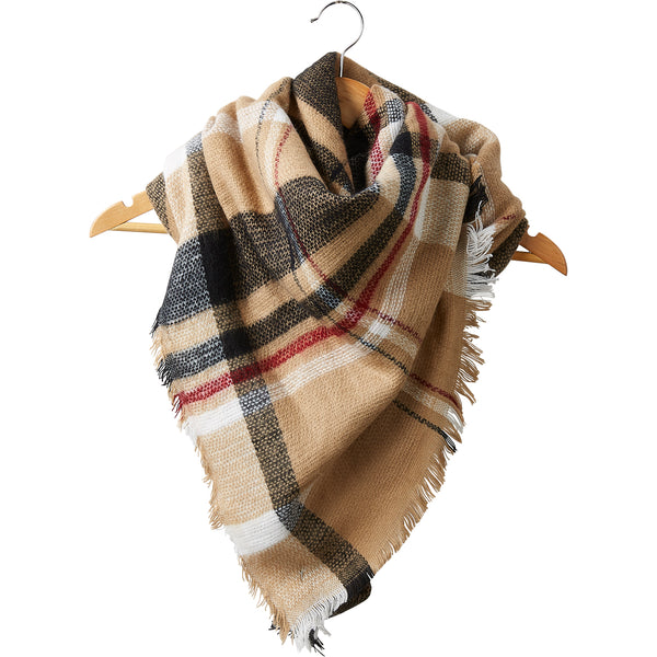Wholesale Boutique Gifts - Fawn Blanket Scarf - Tickled Pink