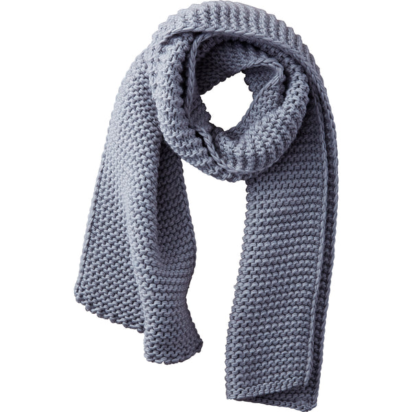 Wholesale Boutique Gifts - Gray Jax Heavy Knit Scarf - Tickled Pink