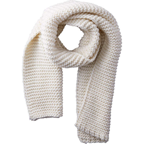 Wholesale Boutique Gifts - Ivory Jax Heavy Knit Scarf - Tickled Pink
