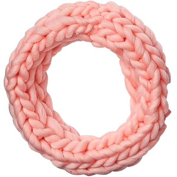 Pink Chunky Knit Cowl - Tickled Pink Wholesale