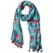 Aloha Summer Print Scarf - Tickled Pink Wholesale