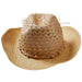 Tawny Beach Cowboy Hat - Tickled Pink Wholesale