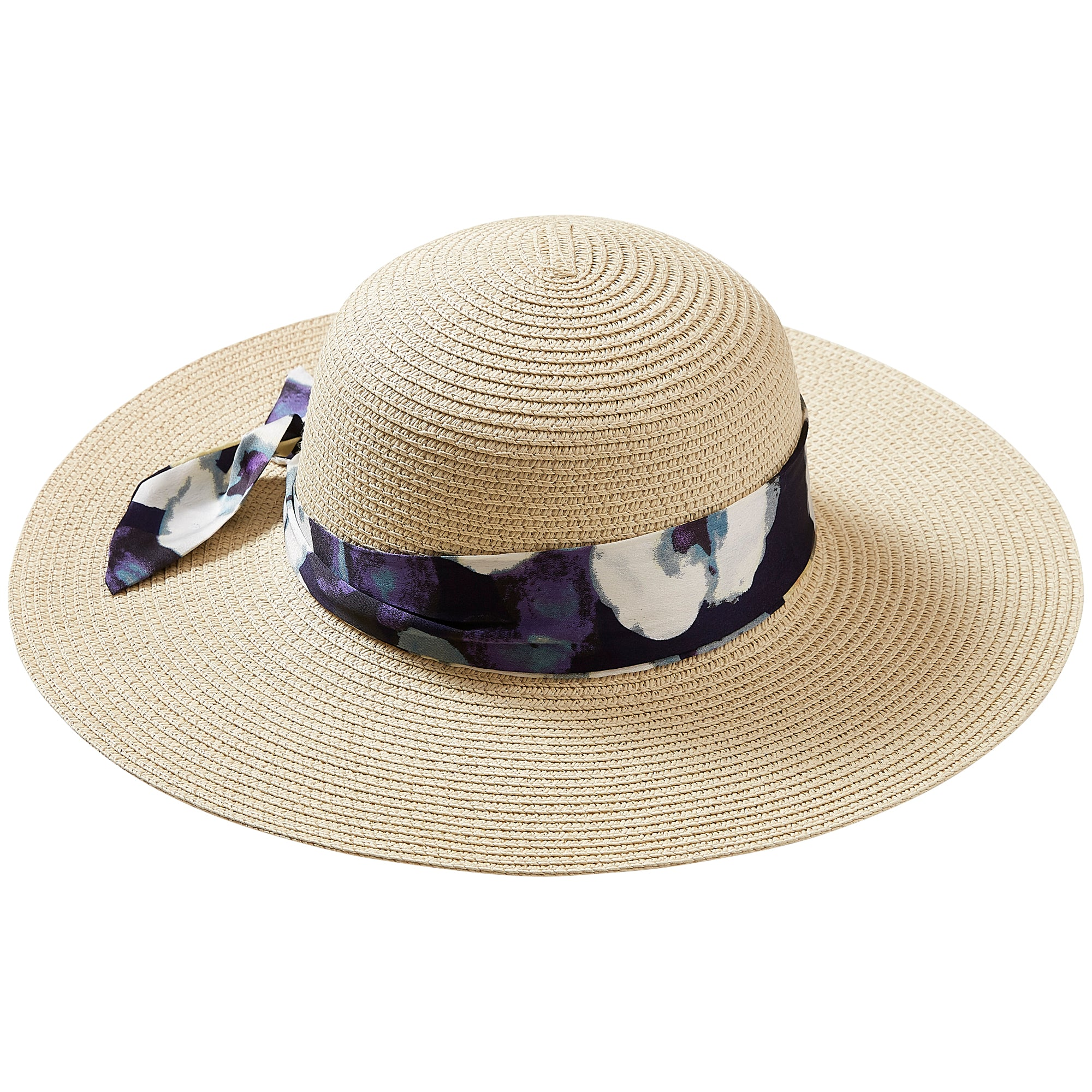 Wholesale Boutique Gifts - Watercolor Floral Cape Cod Floppy Hat - Tickled  Pink cf34eb582ff