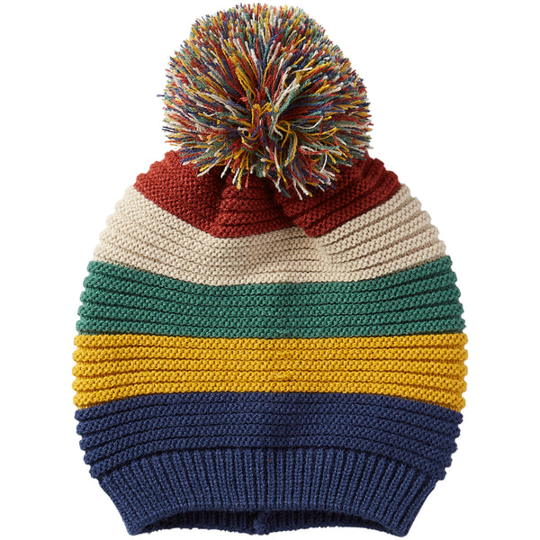 Stripe Beanie - Bold - Tickled Pink Wholesale
