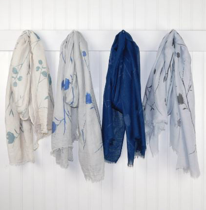 Branches and Flowers Scarf Assortment - Tickled Pink Wholesale