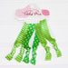 Gameday Hair Tie Set - Green - Gold - Tickled Pink Wholesale