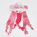 Gameday Hair Tie Set - Red - White - Tickled Pink Wholesale