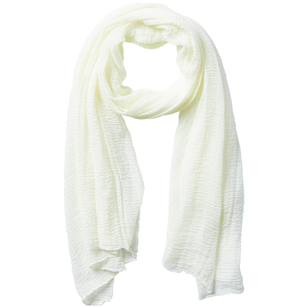 Insect Shield Scarf - Ivory - Tickled Pink Wholesale