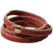 Long Faux Leather Wrap - Red - Tickled Pink Wholesale