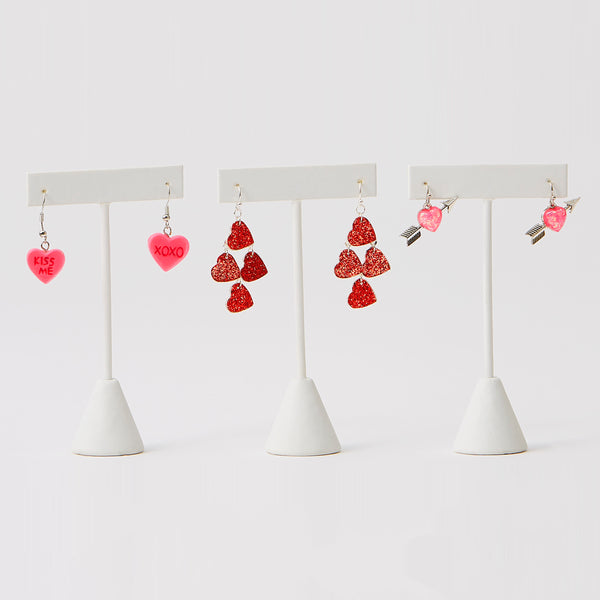 Sweet Hearts Dangle Earrings