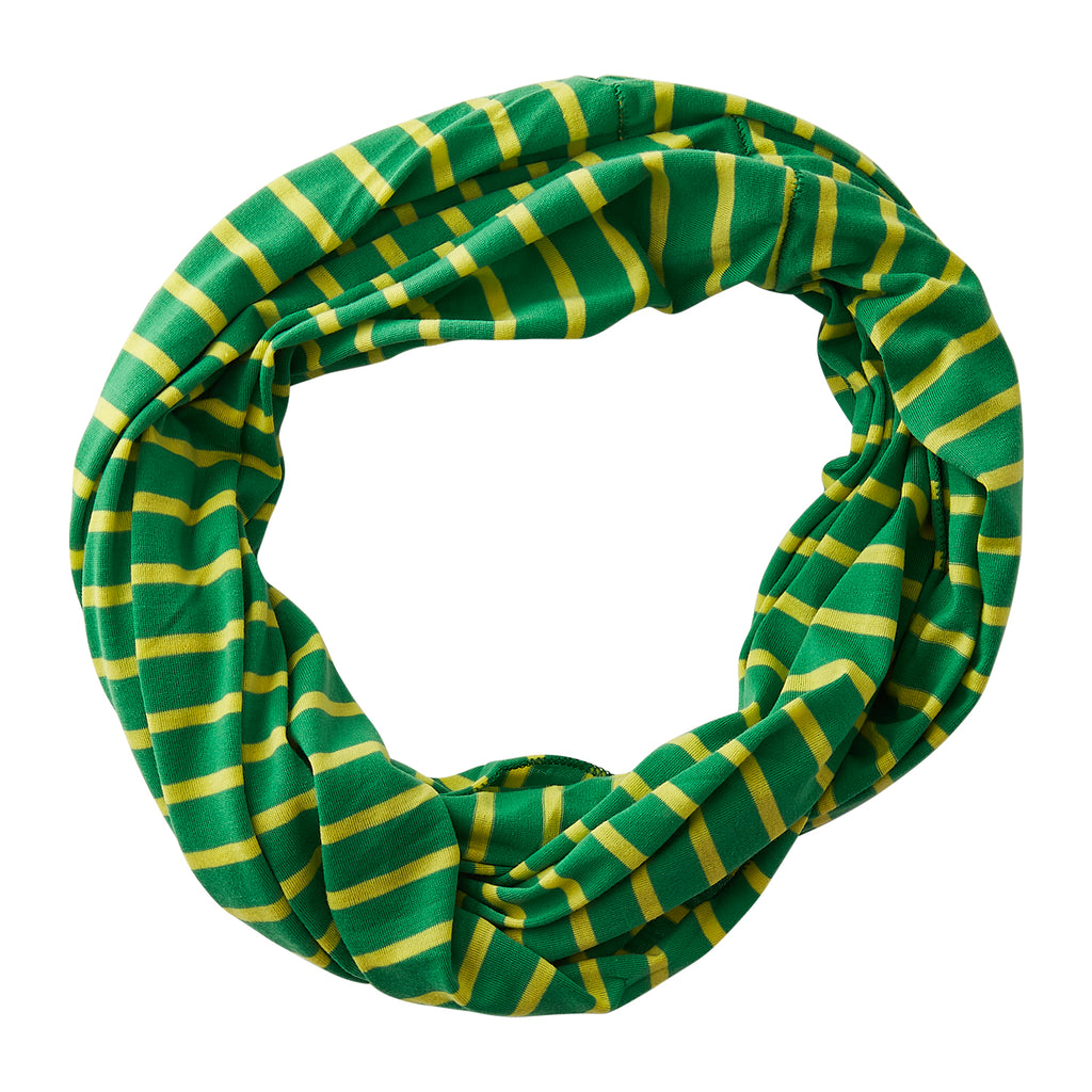 Striped Sport Infinity - Green Yellow - Tickled Pink Wholesale