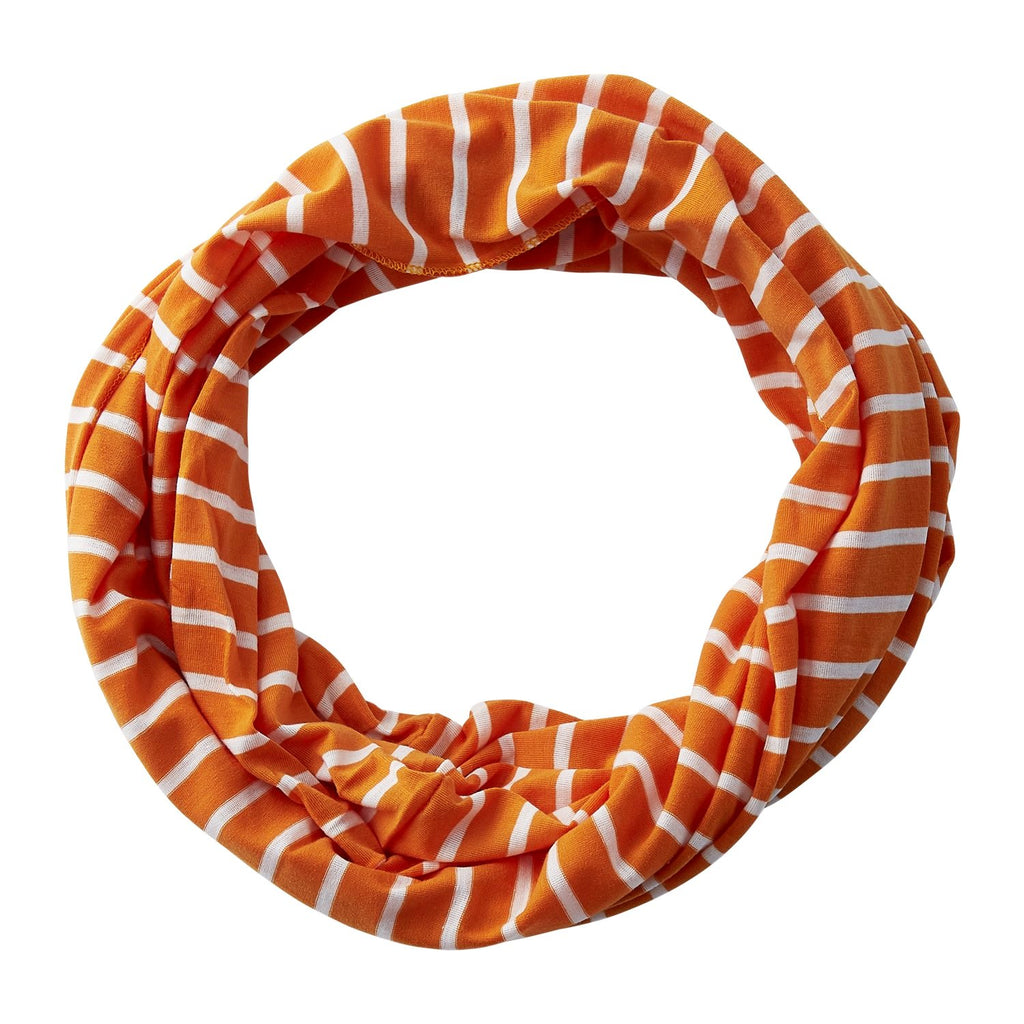 Striped Sport Infinity - Orange - Tickled Pink Wholesale
