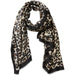 Deb Leopard Scarf - Ecru - Tickled Pink Wholesale