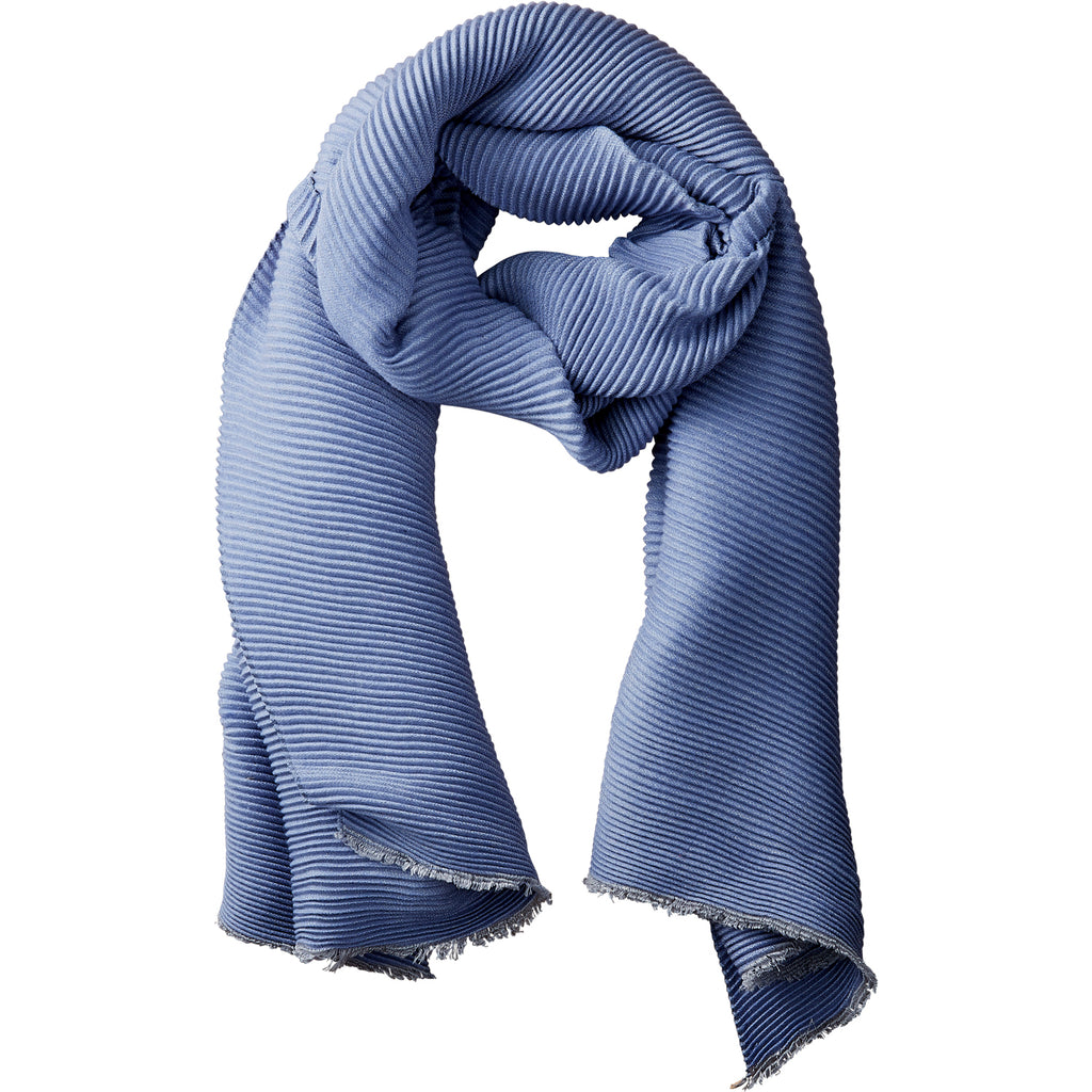 Stone Solid Ridged Scarf - Tickled Pink Wholesale