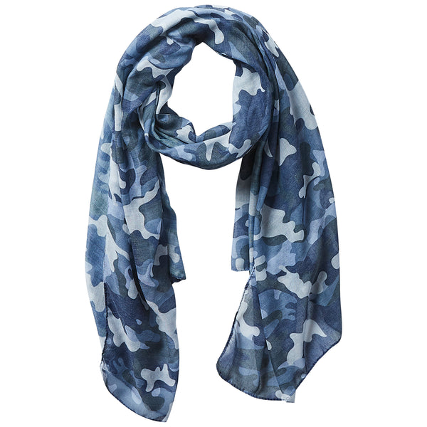 Wholesale Insect Shield Scarf - Black Camo