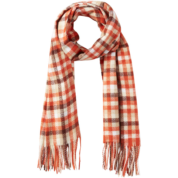 James Plaid Scarf - Harvest - Tickled Pink Wholesale