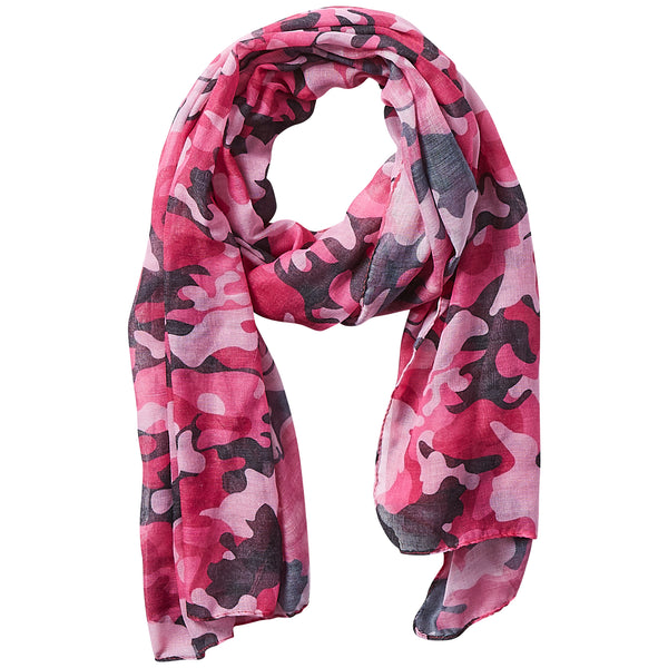 Insect Shield Scarf - Pink Camo - Tickled Pink Wholesale