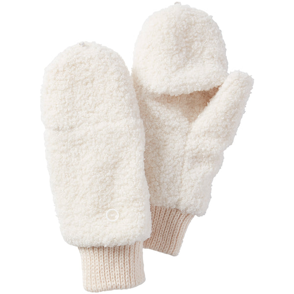 Fuzzy Bunny Mittens - White - Tickled Pink Wholesale