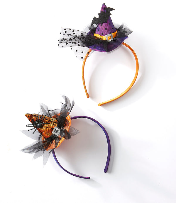 Witch Hat Headbands Mixed 6 Pack