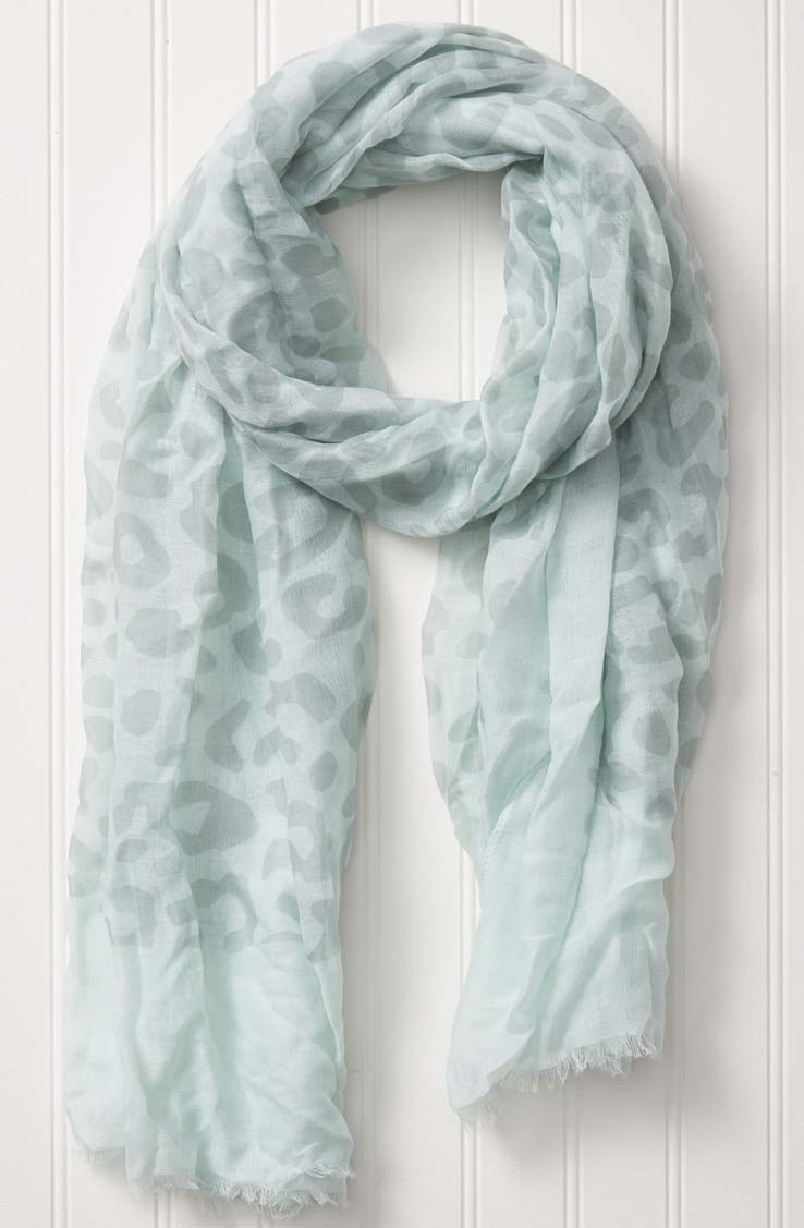 wholesale  Travel Scarf - Leopard Ice