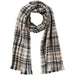 Dean Plaid Scarf - Neutral - Tickled Pink Wholesale